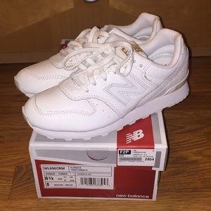 New Balance White Running Sneaker - 6.5 - NWT 👟